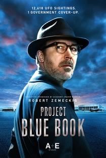 Project Blue Book (1ª Temporada) - Poster / Capa / Cartaz - Oficial 2