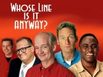 Whose Line Is It Anyway? 4ª Temporada - Poster / Capa / Cartaz - Oficial 1