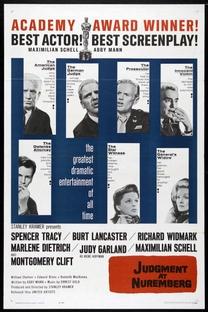 Julgamento em Nuremberg - Poster / Capa / Cartaz - Oficial 5