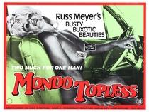 Mondo Topless - Poster / Capa / Cartaz - Oficial 3