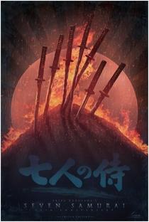 Os Sete Samurais - Poster / Capa / Cartaz - Oficial 24