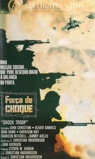 Força de Choque - Poster / Capa / Cartaz - Oficial 1