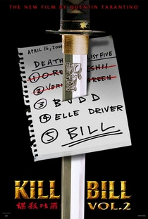 Kill Bill: Volume 2 - Poster / Capa / Cartaz - Oficial 2