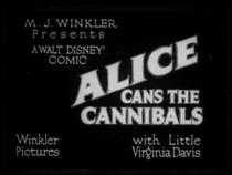 Alice Cans the Cannibals - Poster / Capa / Cartaz - Oficial 1