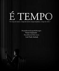 É Tempo - Poster / Capa / Cartaz - Oficial 1