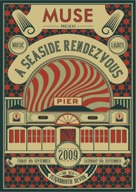 MUSE A Seaside Rendezvous Live Teignmouth 2009 - Poster / Capa / Cartaz - Oficial 1