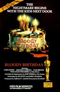 Aniversário Sangrento - Poster / Capa / Cartaz - Oficial 7