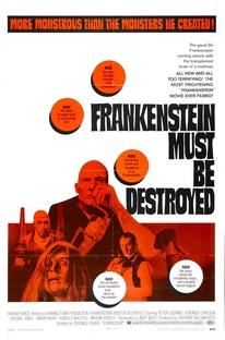 Frankenstein Tem Que Ser Destruído  - Poster / Capa / Cartaz - Oficial 2