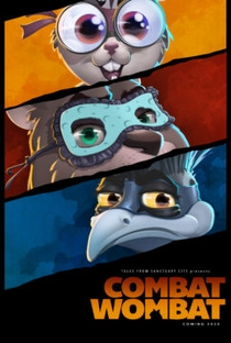 Vombate ao Combate - Poster / Capa / Cartaz - Oficial 2