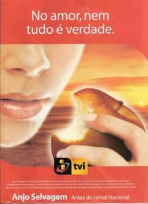 Anjo Selvagem - Poster / Capa / Cartaz - Oficial 1