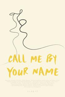 Me Chame Pelo Seu Nome - Poster / Capa / Cartaz - Oficial 30
