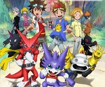 Digimon Xros Wars: Os jovens caçadores que correm através do tempo - Poster / Capa / Cartaz - Oficial 2