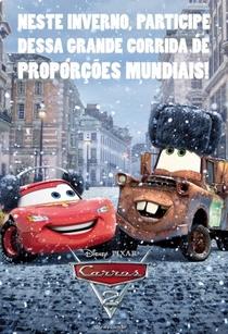 Carros 2 - Poster / Capa / Cartaz - Oficial 5
