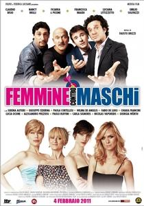 Femmine Contro Maschi - Poster / Capa / Cartaz - Oficial 1