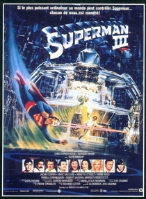 Superman III - Poster / Capa / Cartaz - Oficial 1