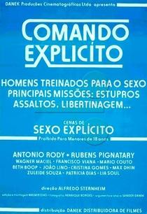 Comando Explícito - Poster / Capa / Cartaz - Oficial 1
