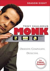 Monk: Um Detetive Diferente (8ª Temporada) - Final - Poster / Capa / Cartaz - Oficial 1