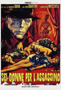 Seis Mulheres para o Assassino - Poster / Capa / Cartaz - Oficial 7