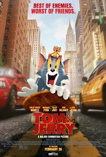 Tom & Jerry: O Filme - Poster / Capa / Cartaz - Oficial 1