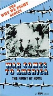 A Guerra Chega à América - Poster / Capa / Cartaz - Oficial 1