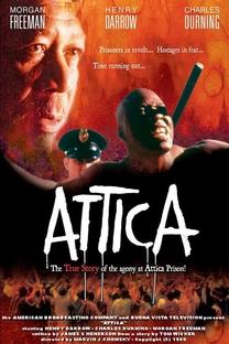 Attica - A Rebelião Sangrenta - Poster / Capa / Cartaz - Oficial 1