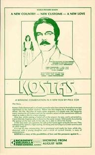 Kostas - Poster / Capa / Cartaz - Oficial 1