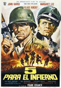 Cinco Para o Inferno - Poster / Capa / Cartaz - Oficial 1