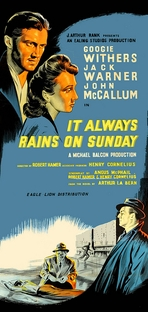 It Always Rains On Sunday - Poster / Capa / Cartaz - Oficial 1