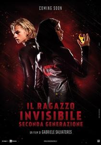 Il ragazzo invisibile: Seconda generazione - Poster / Capa / Cartaz - Oficial 1