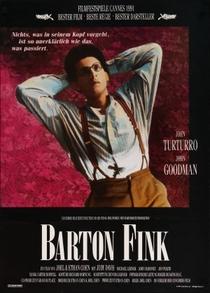 Barton Fink - Delírios de Hollywood - Poster / Capa / Cartaz - Oficial 3