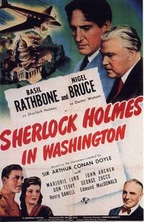 Sherlock Holmes Em Washington - Poster / Capa / Cartaz - Oficial 1