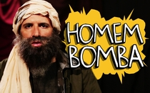 Porta dos Fundos: Homem Bomba - Poster / Capa / Cartaz - Oficial 1
