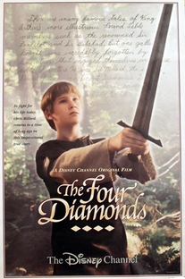 O Cavaleiro dos Quatro Diamantes - Poster / Capa / Cartaz - Oficial 1