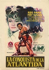 Hércules na Conquista de Atlântida - Poster / Capa / Cartaz - Oficial 1