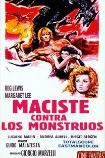 O Filho de Hércules Contra os Monstros de Fogo - Poster / Capa / Cartaz - Oficial 1