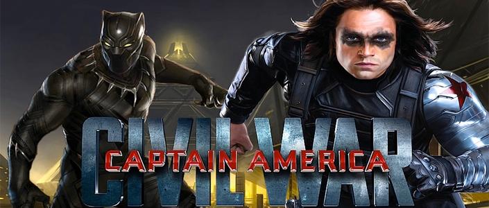 [Spoiler] Veja primeiras fotos do Pantera Negra e Soldado Invernal no set de filmagens de Capitão América: Guerra Civil