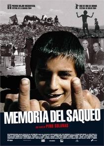Memória do Saqueio - Poster / Capa / Cartaz - Oficial 1