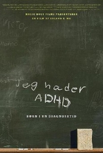 Four Letters Apart—Children in the Age of ADHD - Poster / Capa / Cartaz - Oficial 1