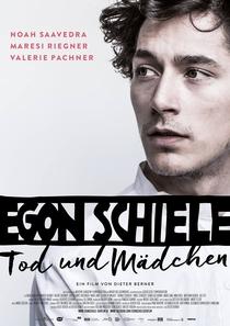Egon Schiele: Morte e a Donzela - Poster / Capa / Cartaz - Oficial 4