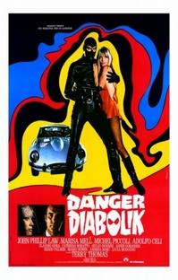 Perigo: Diabolik - Poster / Capa / Cartaz - Oficial 1