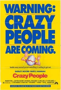 Crazy People - Muito Loucos - Poster / Capa / Cartaz - Oficial 3