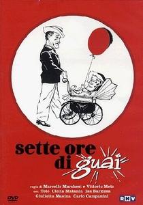 Sette ore di guai - Poster / Capa / Cartaz - Oficial 1