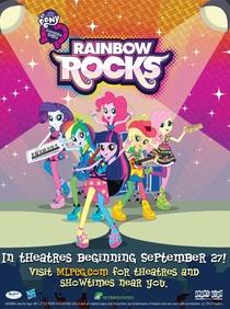 My Little Pony: Garotas de Equestria - Rainbow Rocks - Poster / Capa / Cartaz - Oficial 3