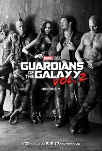 Guardiões da Galáxia Vol. 2 - Poster / Capa / Cartaz - Oficial 1