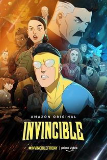 Invencível (1ª Temporada) - Poster / Capa / Cartaz - Oficial 3