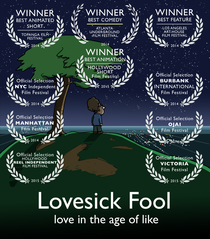 Lovesick Fool - Love in the Age of Like - Poster / Capa / Cartaz - Oficial 1