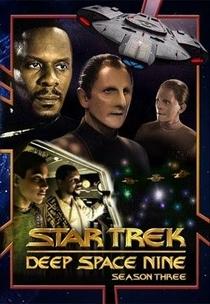 Jornada nas Estrelas: Deep Space Nine (3ª Temporada) - Poster / Capa / Cartaz - Oficial 1