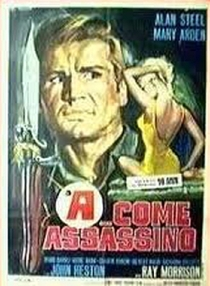 A... Come Assassino - Poster / Capa / Cartaz - Oficial 2