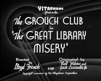 The Great Library Misery - Poster / Capa / Cartaz - Oficial 1