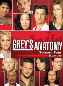 Grey's Anatomy (4ª Temporada) - Poster / Capa / Cartaz - Oficial 2